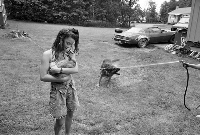 , 'Girl with rabbit and German Shepherd, Laconia, New Hampshire,' 1992, The Photographers' Gallery   Print Sales