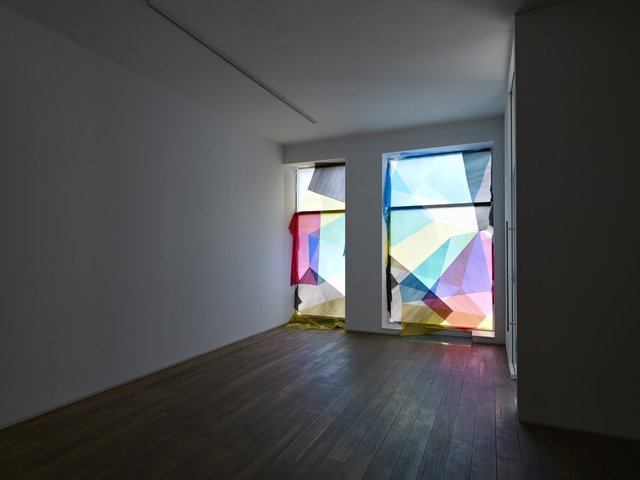 Tommy Grace, ''Cross Double Cross', Installation view of the group exhibition 'Gravity's Rainbow' Ingleby Gallery, Edinburgh (May - June 2011)', 2011, Ingleby Gallery