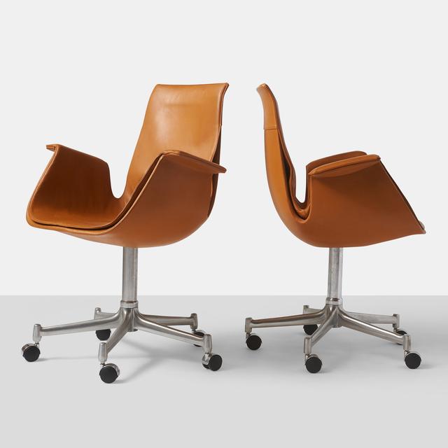 "Preben Fabricius, 'Pair of ""Bird"" Chairs', 20th Century, Almond & Co."