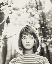 Nena von Schlebrugge: Informal, in the Forest (First Test Shots)