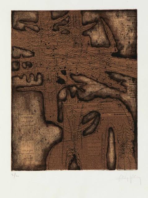 Wifredo Lam, 'Image', 1962, Cambi