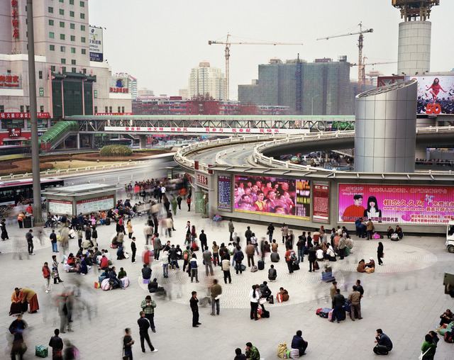 , 'North Square of Beijing West Railway Station Fengtai District, Beijing, China,' 2010, East Wing