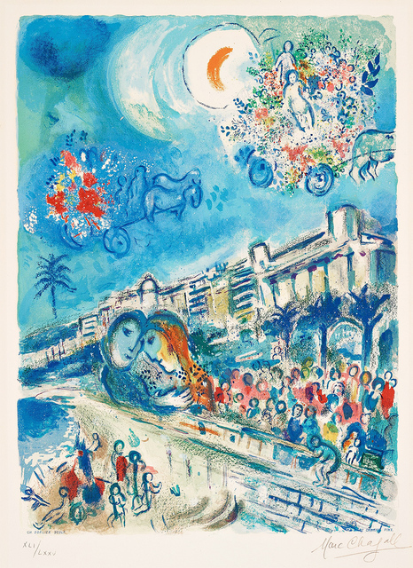 Marc Chagall, 'Bataille de Fleurs (Carnaval of Flowers) from Nice and the Côte d'Azur', 1967, Masterworks Fine Art