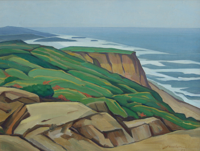 , 'The Pacific ,' 1952, JRB Art at The Elms