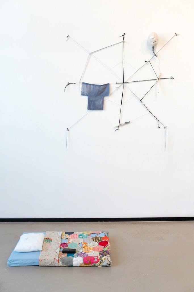 "Installation view of Jasper Spicero at ""The Heart is a Lonely Hunter,"" YARAT Contemporary Art Centre, Baku, Azerbaijan, 25 September 2015 – 9 January 2016."