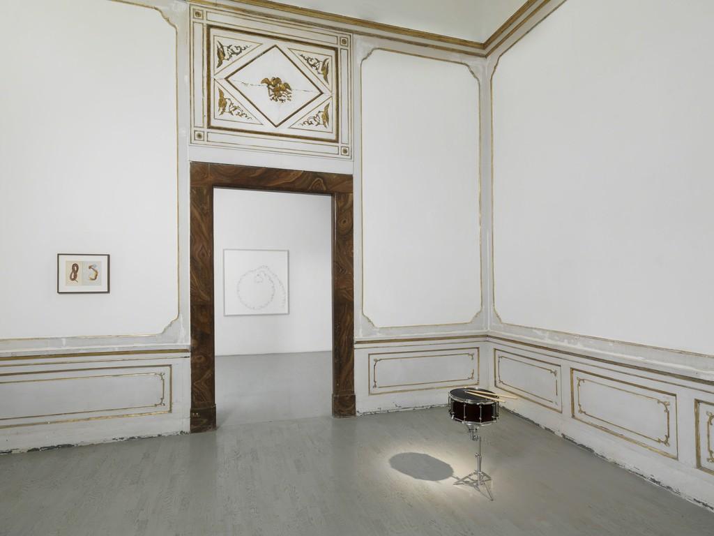 Anri Sala - partial view of the exhibition - December 2015 - Galleria Alfonso Artiaco, Napoli