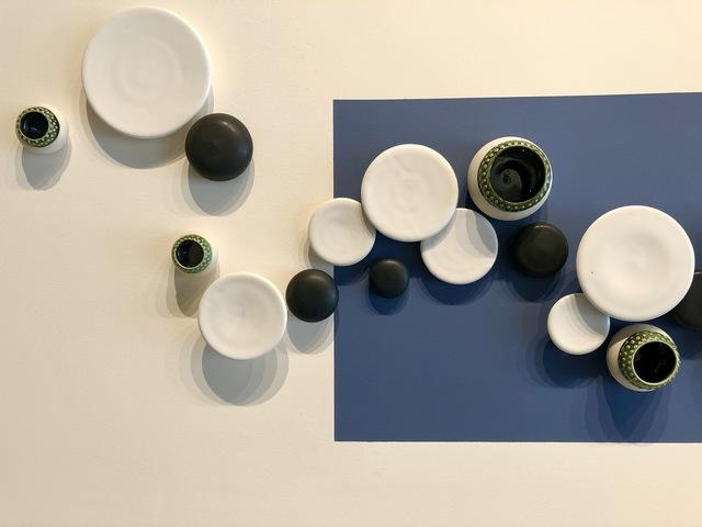 Elizabeth James, 'Pixelated Panorama Series: Blue Moon Over Superior', ca. 2019/2021, Sculpture, Porcelain, Joseph Nease Gallery