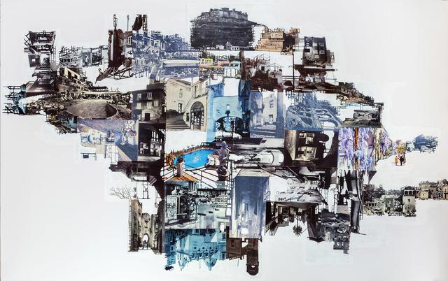 , 'Architettura del mito,' 2016, Umberto Di Marino