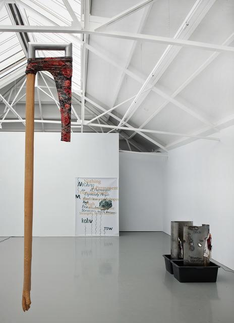 Olga Balema, 'Arm and legging', 2013, Sculpture, Latex, aluminium, Galerie Fons Welters