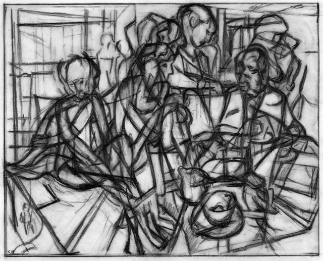 Clive Head, 'Drawing 2 for To Wait as Balham Falls', 2016, Waterhouse & Dodd
