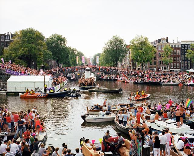 , 'Gay Parade Amsterdan,' 2015, Van Kranendonk