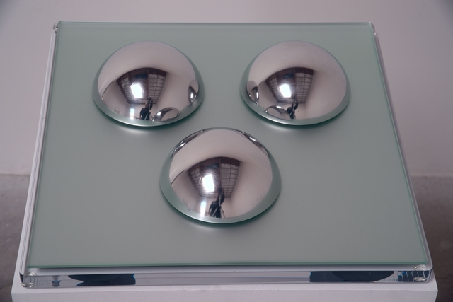 , 'Polished Stainless Steel Domes (small),' 1968, Brooklyn Museum