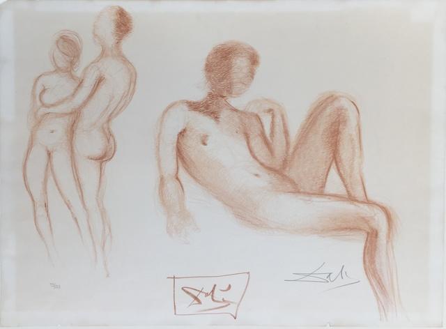 , 'Nus,' 1972, Galerie AM PARK