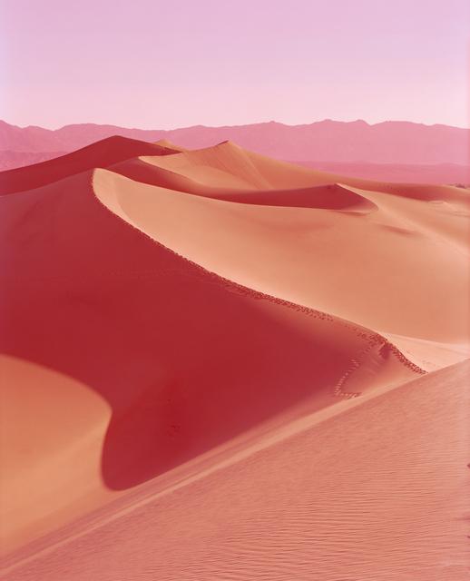 David Benjamin Sherry, 'Sunrise on Mesquite Flat Dunes, Death Valley, California', 2013, Photography, Chromogenic Print, Salon 94