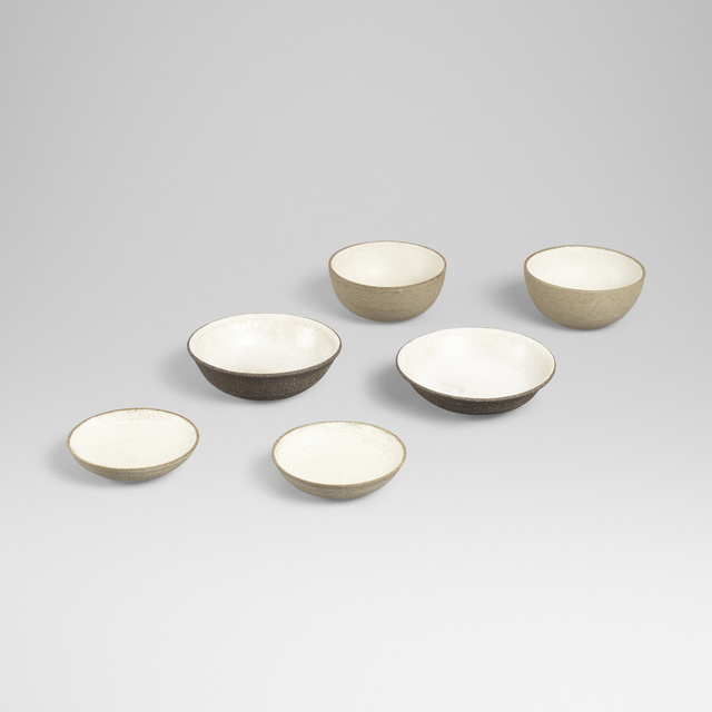 Aage and Kasper Wurtz, 'collection of six bowls', Wright