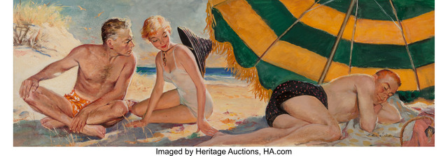 Ernest Chiriacka, 'My Darling, My Darling, The Saturday Evening Post interior illustration, April 13,1954', Heritage Auctions