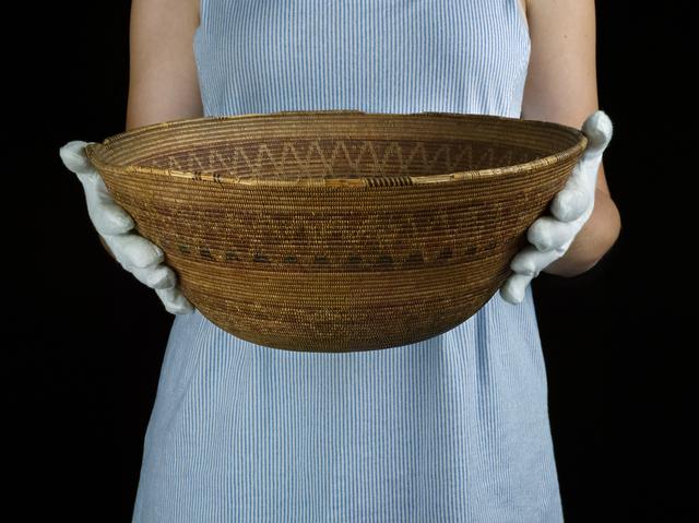 , 'Chumash Basket at the Mission Museum,' 2018, Gallery NAGA