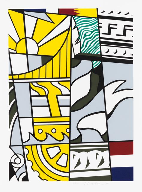 Roy Lichtenstein, 'Bicentennial Prin', 1975, Christopher-Clark Fine Art