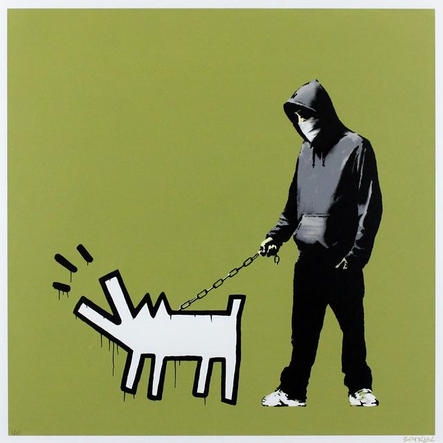 Banksy, 'Choose Your Weapon (Olive)', 2010, Gormleys Fine Art