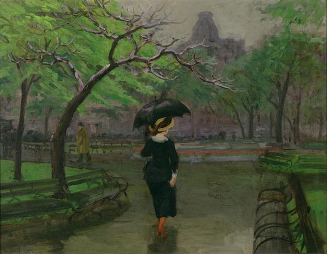 , 'Spring Rain,' 1912, Delaware Art Museum