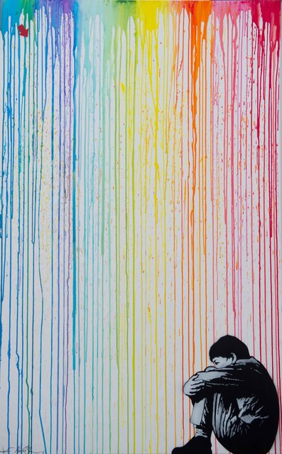 Jef Aérosol, 'SITTING KID ', 2013, Gallery 32