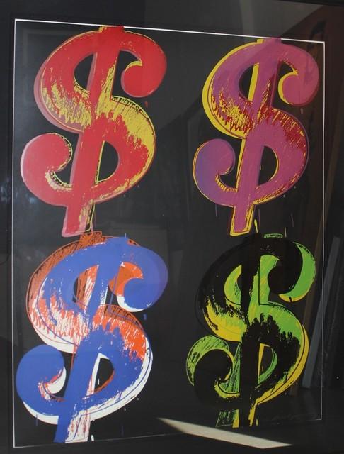Andy Warhol, 'Dollar Sign 4 (FS II.282)', 1982, Revolver Gallery