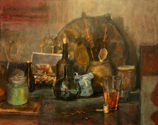 , 'Painters Kitchen Still Life,' 2018, Somerville Manning Gallery