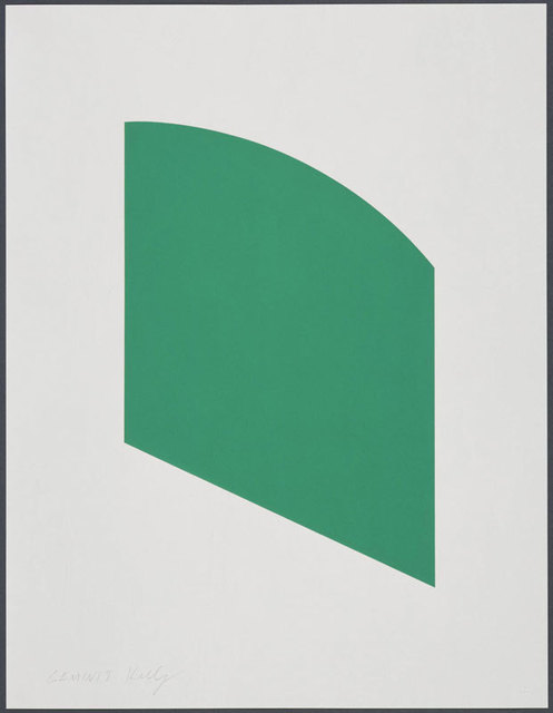 , 'Green Curve,' 2002, Sebastian Fath Contemporary