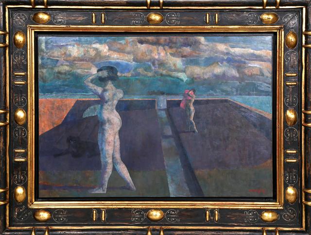 Armando Morales, 'Paysage avec Chien Deux Baigneuses XXII', 1996, RoGallery