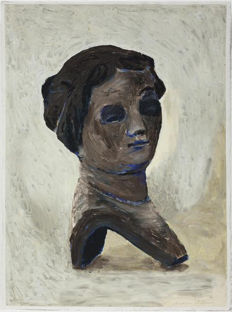 , 'Porslinsbyst / Porcelain Bust,' 2018, Galleri Magnus Karlsson