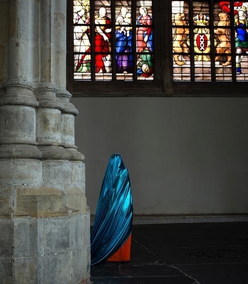 , 'Blue red, Oude Kerk,' 2016, Marian Cramer Projects