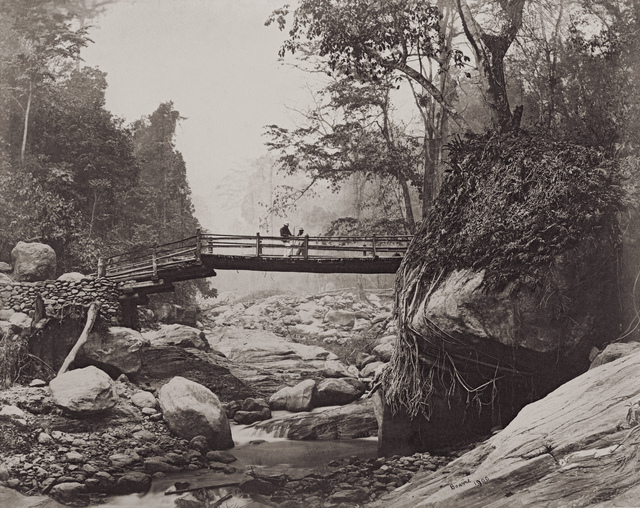 , 'Darjeeling Bridge ,' 1869, Getty Images Gallery