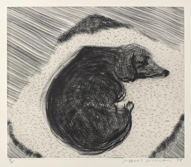 David Hockney, 'Dog Wall No.3, from Dog Wall', 1998, Phillips