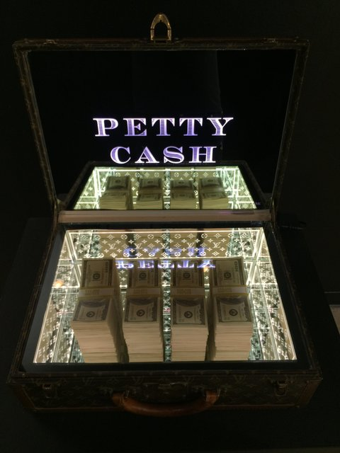 , 'ZMK, Petty Cash,' 2018, Oliver Cole Gallery