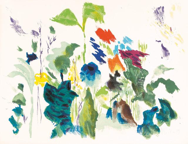 Max Weiler, 'Naturstück', 1989, Print, Color lithograph, Galerie Kovacek & Zetter