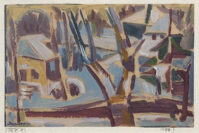 Werner Drewes, 'Old Garden in Clayton', 1955, William Havu Gallery