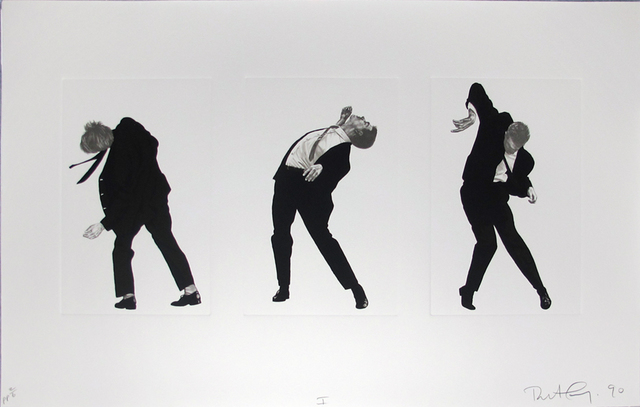 Robert Longo, 'Men in the Cities, Tokyo, Seibu Department Stores, Ltd. I (3 Men)', 1990, Hamilton-Selway Fine Art