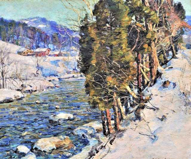 George Gardner Symons, 'Winter', ca. 1930, Clarke Gallery