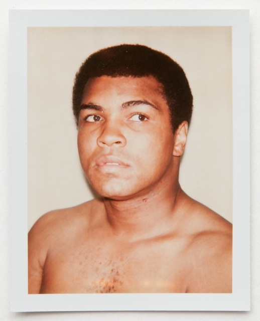 , 'Andy Warhol, Polaroid Photograph of Muhammad Ali, 1977,' 1977, Hedges Projects