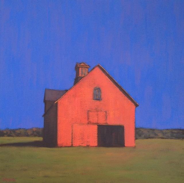 , 'Red Barn,' , Eisenhauer Gallery