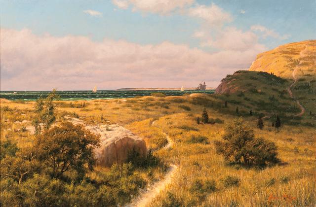 Joseph McGurl, 'Yachts off the Vineyard', Skinner