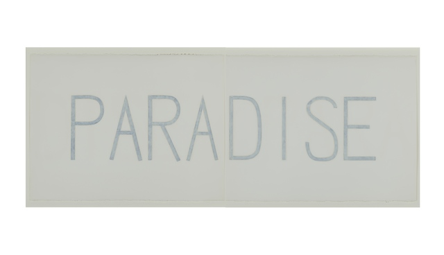 , 'Paradise,' 1989, Barry Whistler Gallery