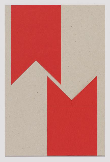 , '2 Lettres M (du cycle M Comme Malevich),' 1961, Senior & Shopmaker Gallery