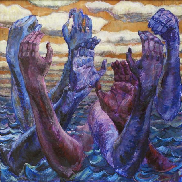 Teddy Johnson, 'Across the Ocean Deep', 2017, Linda Matney Gallery