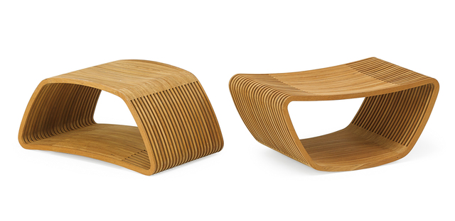 Barber & Osgerby, 'Two Hula stools/side tables, Italy', 2000s, Rago
