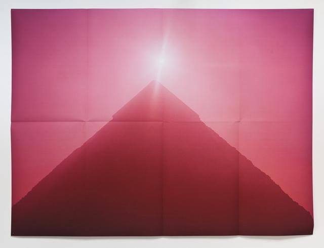 Jack Pierson, '(Pyramid, Pink) ', 2010, Xavier Hufkens