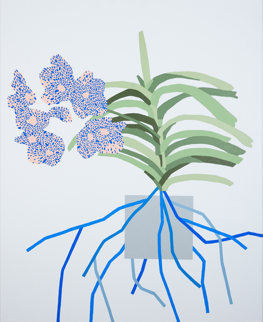 , 'Untitled-Plant-Painting,' 2014, Ninasagt