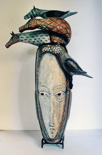 , 'A Head of the Heard,' 2017, WaterWorks Gallery