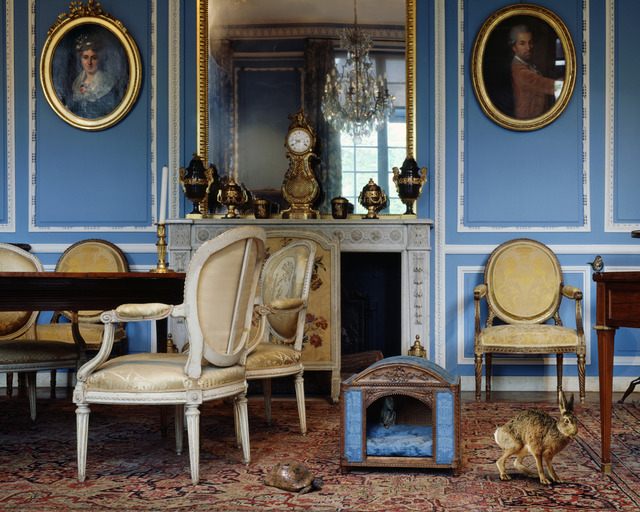 Salon Louis 16 Of Karen Knorr The Blue Salon Louis Xvi 4 2006