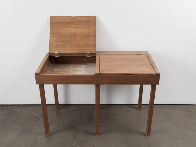 , 'school desk  ,' 2014, Alexander and Bonin
